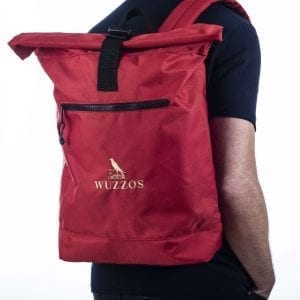Recycled WUZZOS Roll Top Backpack Wuzzos