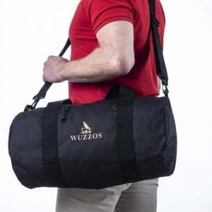 Recycled WUZZOS Barrel Bag Wuzzos