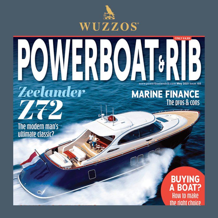 Corinthian Pro Shoe Article - Powerboat & RIB - May 2021 Wuzzos
